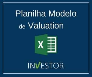 Planilha Modelo Valuation